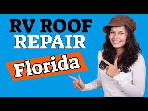 RV Roof Repair Florida - Mobile RV Repair Service FL
