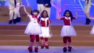 Aaradhya Bachchans cute dance at annual day !
