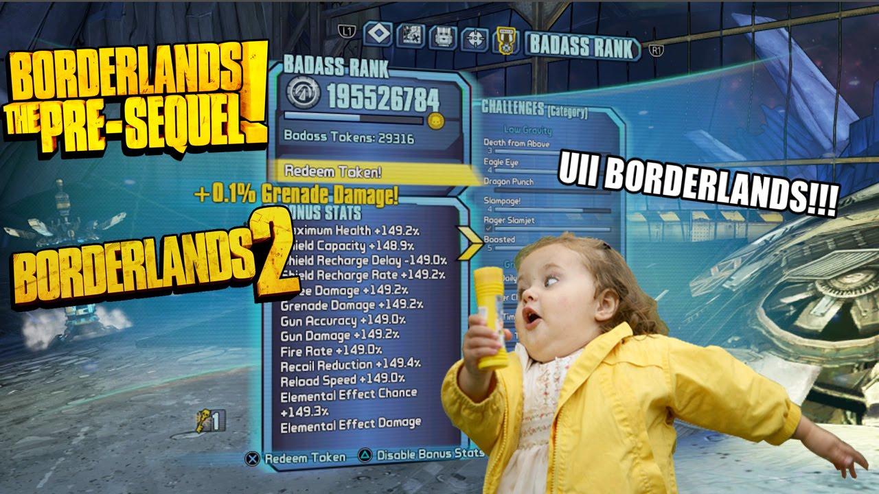 borderlands 2 badass rank glitch