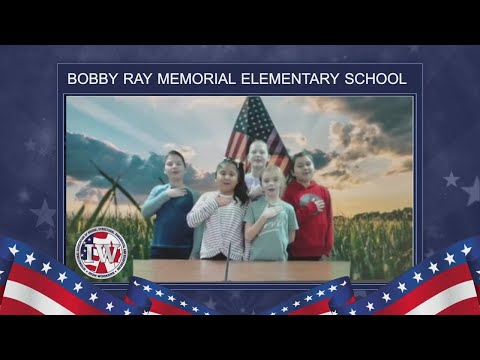 The Morning Pledge - Bobby Ray Memorial Elementary School - 11/25/19