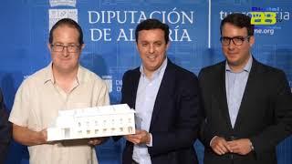 Diputación se alía con la Fundación Ibáñez para culminar la Ciudad de la Cultura de Olula del Río