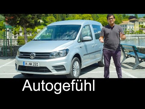 Volkswagen Caddy TGI FULL REVIEW new VW CNG Erdgas Facelift
