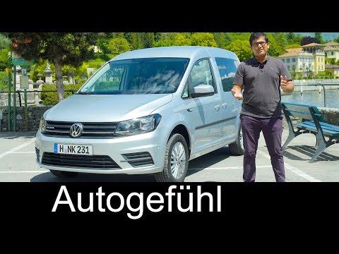 Volkswagen Caddy TGI FULL REVIEW new VW CNG Erdgas Facelift neu - Autogefühl