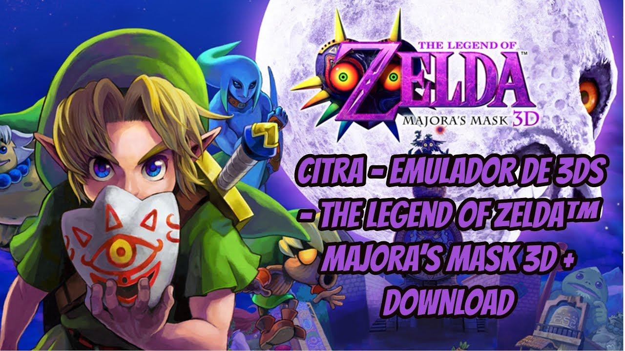 Citra 3DS Emulator - The Legend Of Zelda Majoras Mask Ingame +