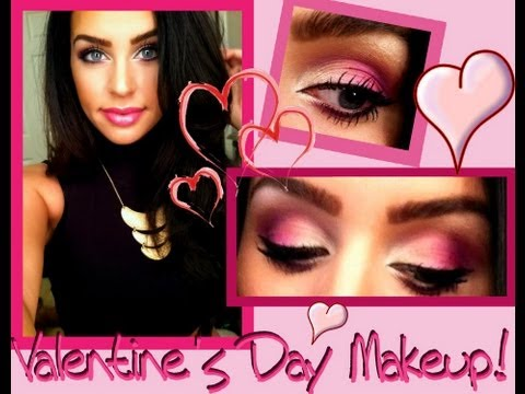 Valentine's Day Makeup Tutorial + Contest Giveaway!
