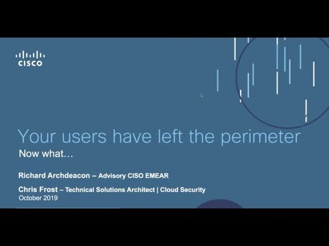 Getting the best out of the cloud with Cisco Umbrella & DUO