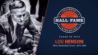 Lou Henson | 2018 Illinois Athletics Hall of Fame
