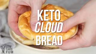 Low Carb Keto Cloud Bread