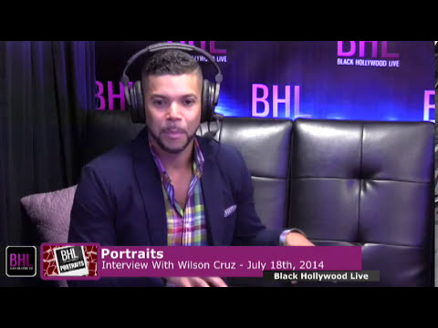 Portraits w/ Wilson Cruz | July 18th 2014 | Black Hollywood Live