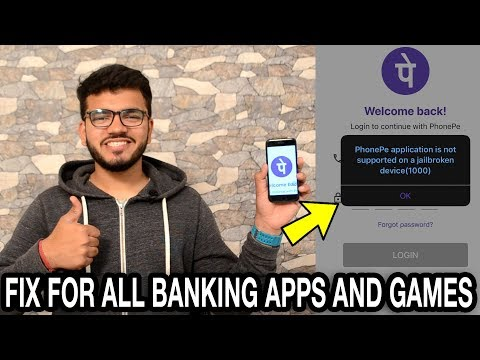 How To Bypass Jailbreak Detection On Banking Apps 2019 (PhonePe, Tez, PayPal) Unc0ver Jailbreak