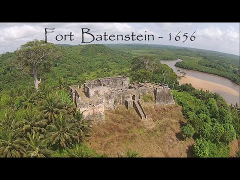 Fort Batenstein ruins in Ghana - remembering the history of the Gold Coast