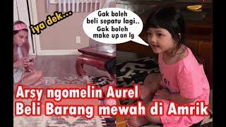 Download Video Aurel di Omelin Arsy karena Beli Barang2 Mewah di Amerika. Arsy : ini Barang mahal Loh Kak Loly !!! MP3 3GP MP4