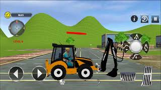 City Road Builder Construction Excavator Simulator | Android Gameplay