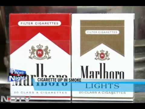 Cigarette makers lobby for a tax rollback