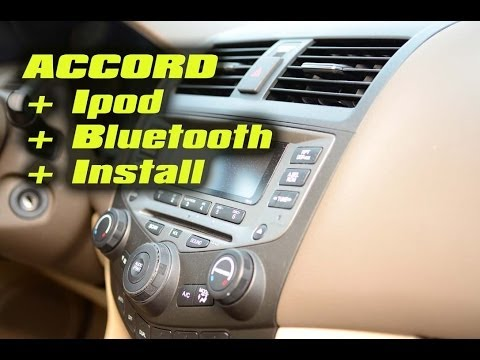 Honda Accord Dice Mediabridge Bluetooth Ipod USB Aux Mp3 Android (ALL IN ONE)