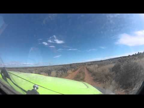 Dual Sport Baja Bug arrives at Grand Canyon - North Rim 1 of 2