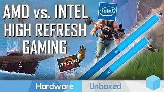 Is Intel Really Better at Gaming? 3700X vs 10600K Competitive Setting Battle