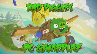 Bad Piggies - PC Gameplay