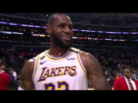 LeBron James Postgame Interview | Lakers Vs Clippers | March 8, 2020