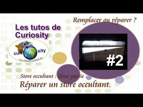 Comment Réparer Un Store Occultant Avec Un Fil Nylon Cest