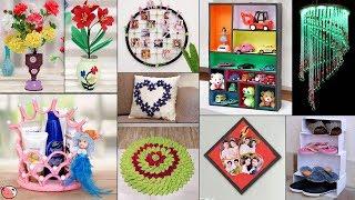 10 Creative Wall Decor Ideas !!! Handmade #CraftIdeas