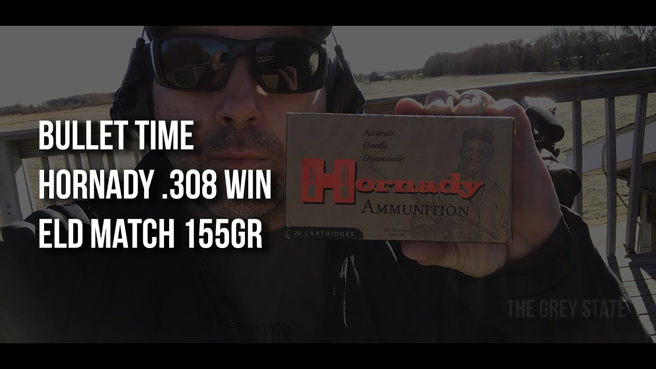 Bullet Time - Hornady ELD Match 155 gr Chronographed