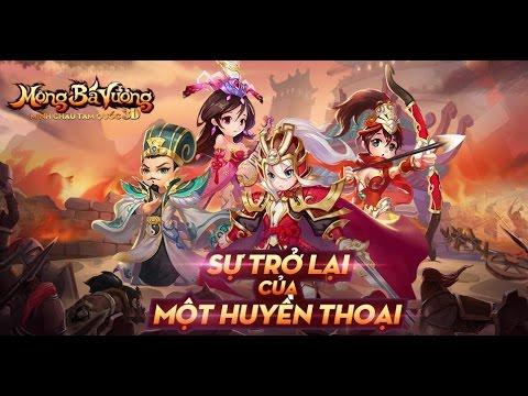 Trải Nghiệm Game Mobile Mộng bá vương – Minh Châu 3D