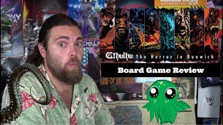 Cthulhu - Deck Builder : Horror of Dunwich Board Game Review