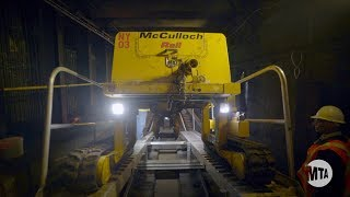 Subway Action Plan: Installing Continuous Welded Rail (CWR)