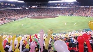 2014年7月19日甲子園球場 マツダオールスターゲーム2014 ラッキーセブン...
