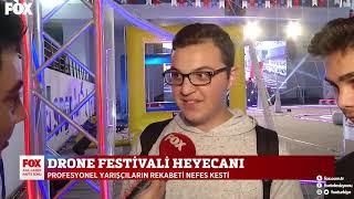 Fox TV Ana Haber - Üsküdar Drone Festivali Haberi