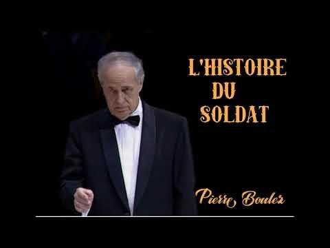 I.Stravinsky -L`Histoire du Soldat/ Suite de Concert, Pierre Boulez