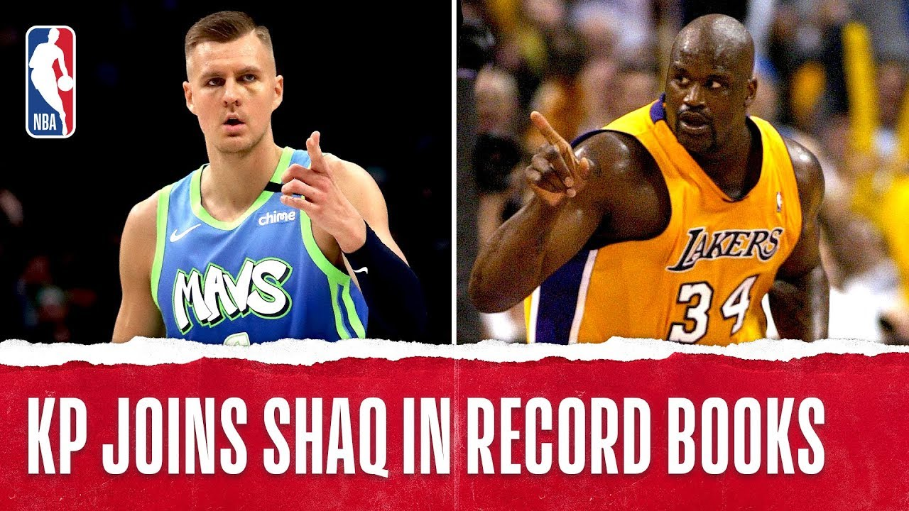 Porzingis Joins Shaq To Have 30+ PTS & 5+ BLK In Back-To-Back Games!