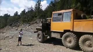 Урал-4320. Поездка на Конжак