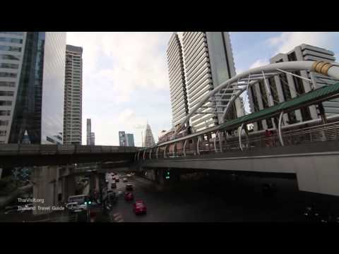 BTS-BRT Sky Bridge , Bangkok Landmark - Thailand Travel Guide