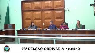 Sessão da Câmara  11.04.19