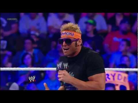 Zack Ryder welcomes the WWE Universe to