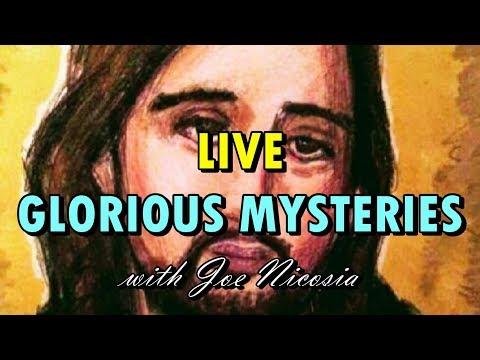 *LIVE* HOLY ROSARY (Glorious Mysteries) with Joe Nicosia - May 15 2019