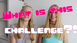 What is this challenge?! I Finja and Svea