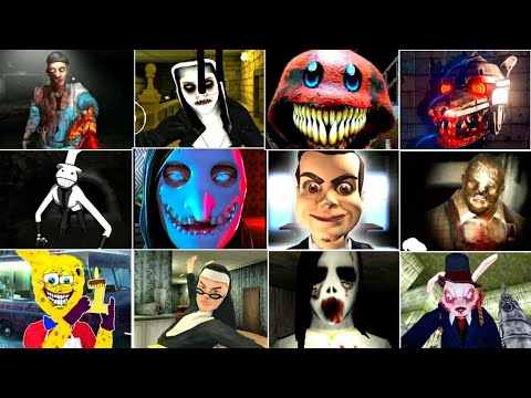 Game Over #16 - Goosebumps Night Of Scares - Brother Wake Up - Demonic Nun Two Evil - Smiling X Zero  