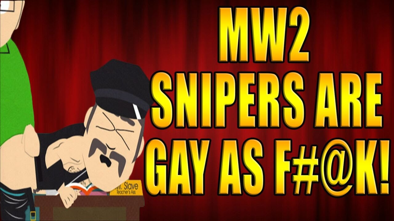 Mw2 is gay
