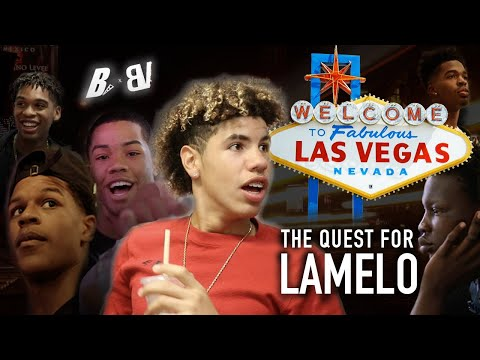 THE QUEST FOR LAMELO  Bol Bol, Shareef, Cassius & BIG BALLERS Link Up on Vegas Strip!