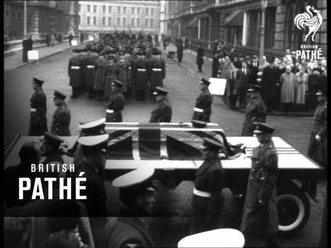 Lord Trenchard's Funeral (1956)