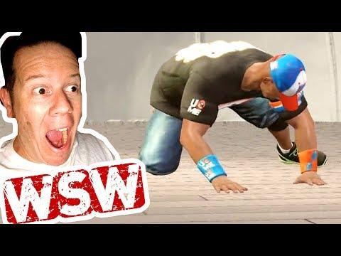 DID STEVE BEAT CENA AND WIN ONE MILLION BUCKS?? WSteveW LIVE Ep. 2 (WWE 2K17)