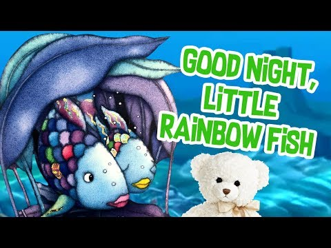 Kids Book Read Aloud | Good Night Rainbow Fish By Marcus Pfister | Ms. Becky & Bear's Storytime