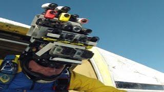небольшой обзор экшен камеры sony hdr-as 200v