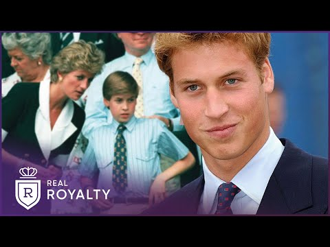 A Portrait of Prince William   A Royal Child   Real Royalty