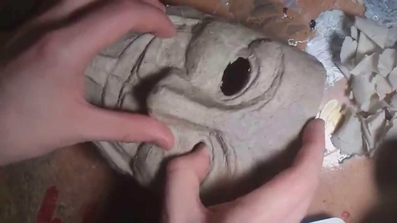 Как сделать крутую маску из бумаги фото 724