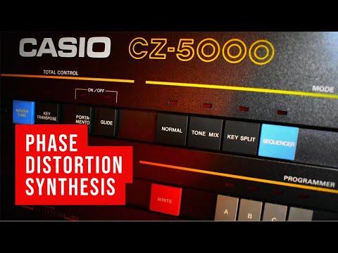 CASIO CZ-5000 (1985) - demo by nacho.systenova.com