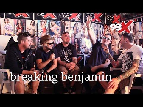 Rock Fest 2016: Interview with Breaking Benjamin